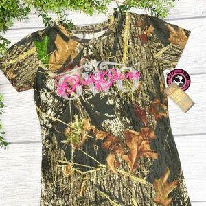 NEW GWG Camo Short Sleeve Tee Shirt Lg